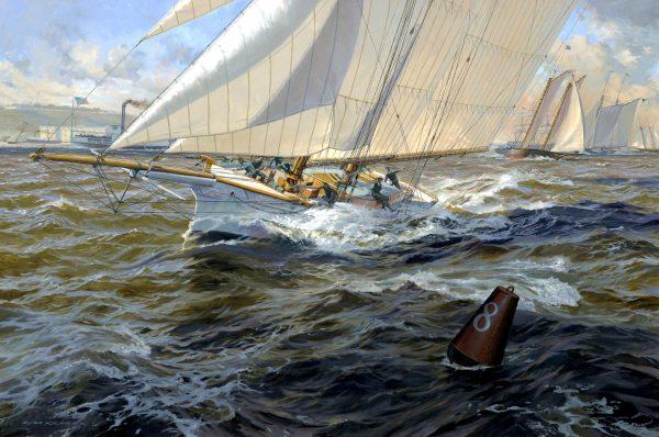 Buoy 8, 8/23/14, 10:14 AM,  8C, 12000x15990 (0+0), 150%, Custom,  1/25 s, R49.9, G30.0, B31.1