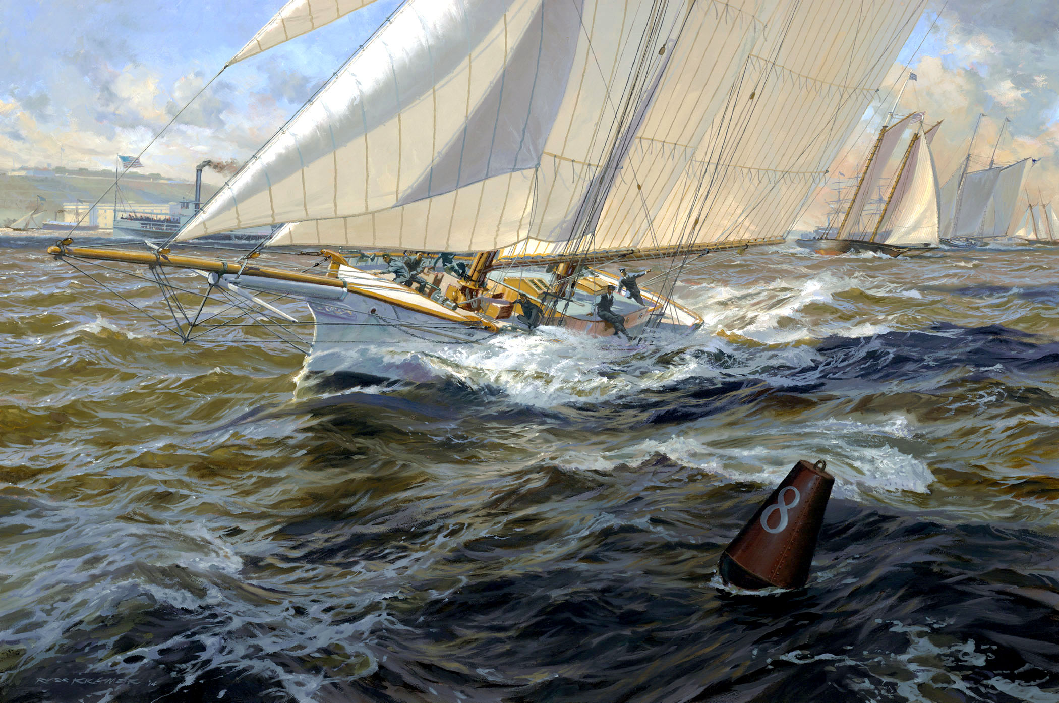 """Little MAGIC: First Defense of the America's Cup, 1870"""