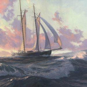 """MALABAR X Off Bermuda, 1930"""