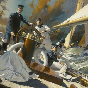 """""""A Thrash To Windward: Mrs. Iselin And The Crew Of COLUMBIA, 1899"""""""