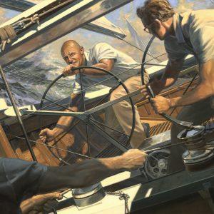 """Onboard INTREPID, 1970"""