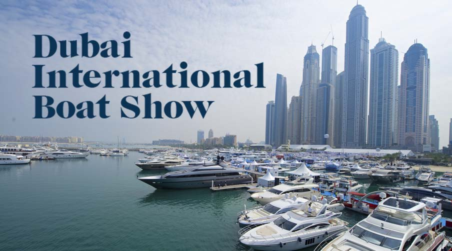 See Russ at the Dubai International Boat Show