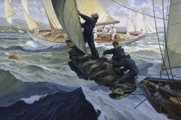Fife Yacht Moonbeam 1905