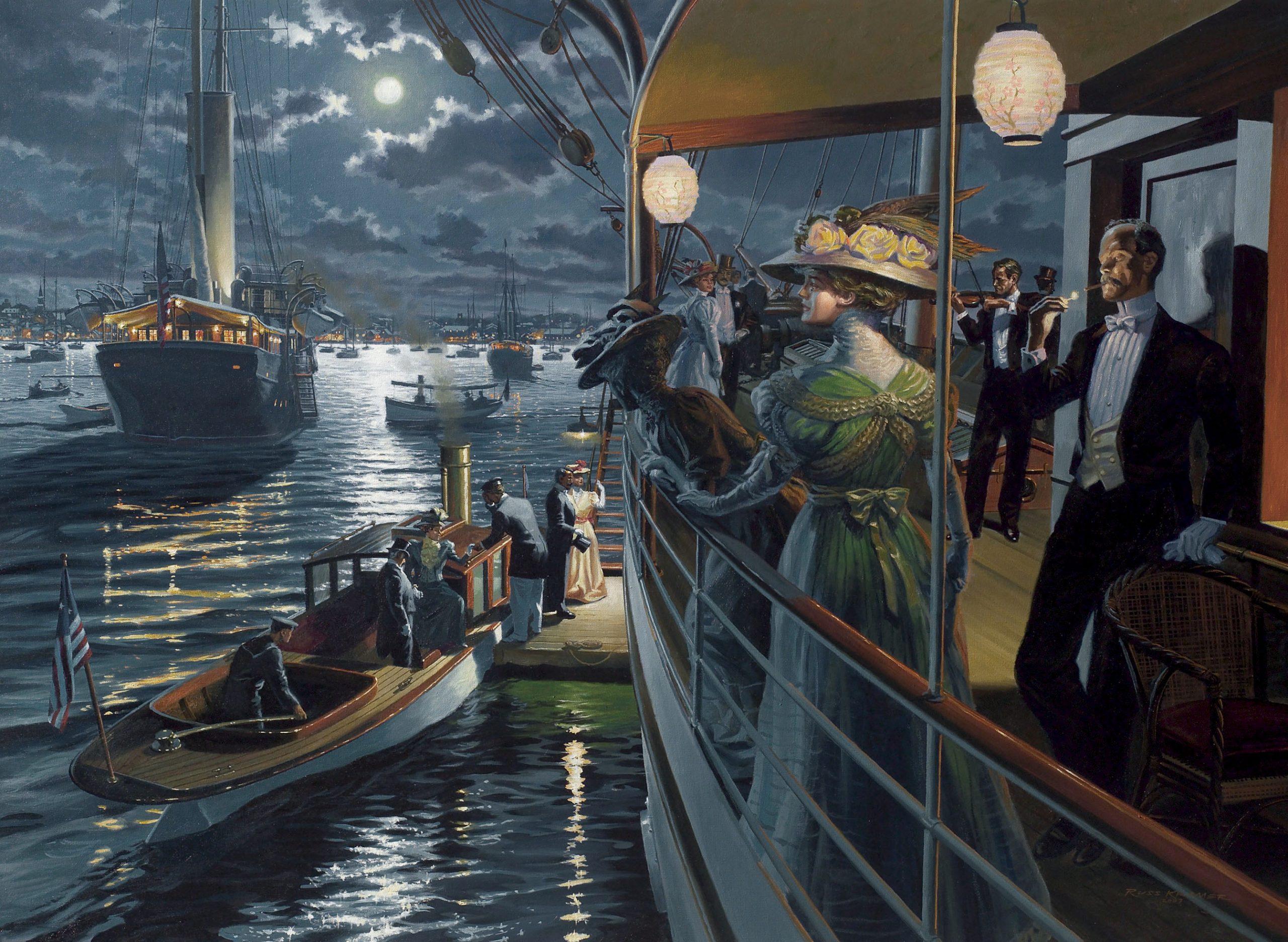 """""""High Season: Newport, 1908"""""""