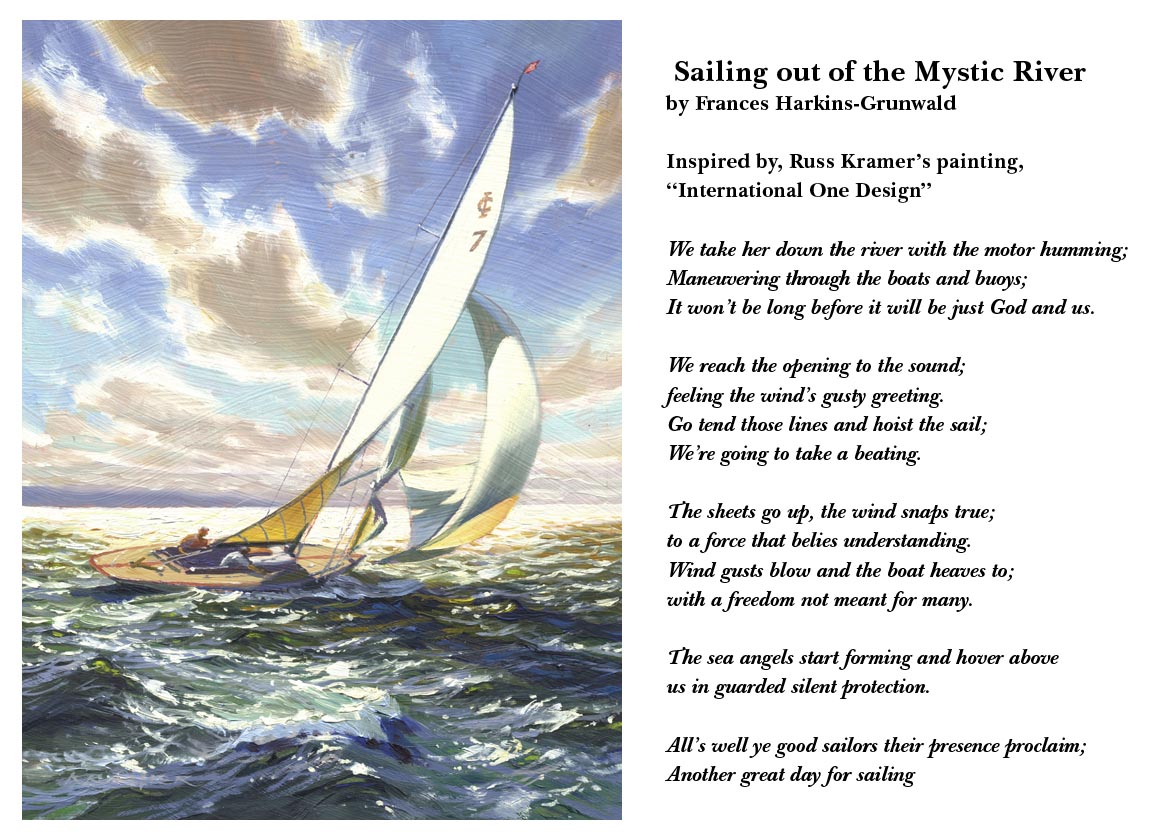 "Inspiration For ""Sailing Out Of The Mystic River"""