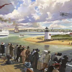 """Arrival Nantucket, 1918"""