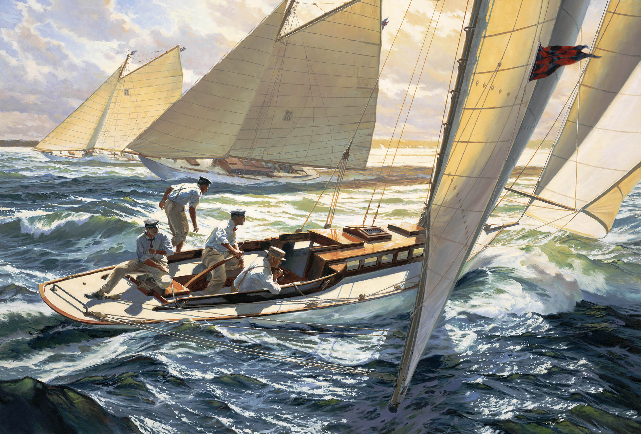 """The Joy of Sailing: CARA MIA and the New York 30s of 1905"""