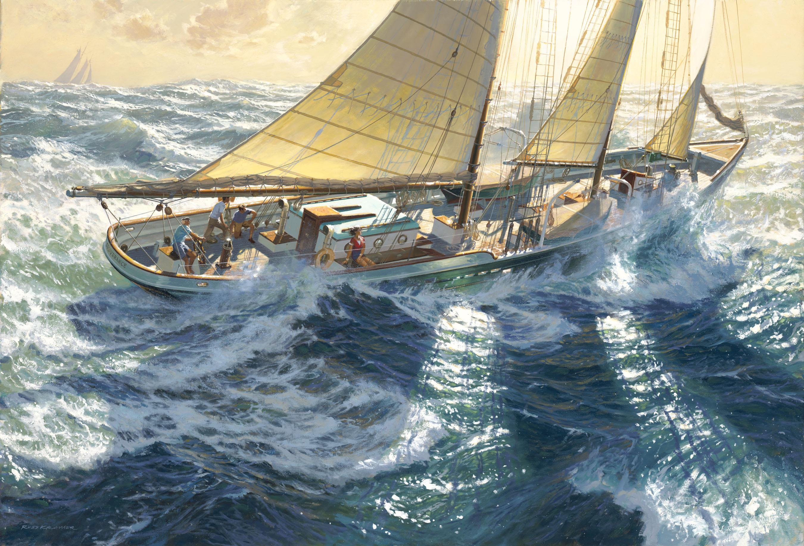 """""""Schooner Yacht DELIVERANCE"""""""