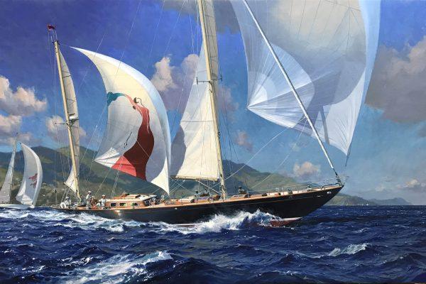 yacht bolero sparkman & stephens
