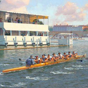 """Kent School Boat Club At Henley, 1971"""
